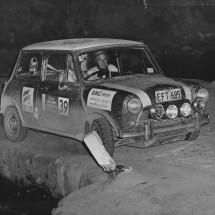 1966 SCR Rauno Aaltonen, Roy Denny - BMC Cooper S