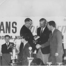 1966 SCR [Winners' Golden handshake] Harry Firth, Graham Hoinville