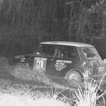 1969 SCR [near Tenterfield] Bruce Cheesman, Graham Pinnell - ... Morris Cooper S ...