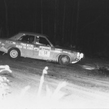 1972 SCR Neil Lawrence, Peter Brown - Mazda RX3
