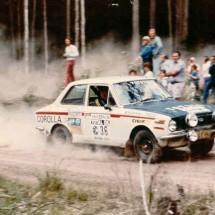 1975 SCR Car#36 Gary Meehan, Martin Fell - 1969 Toyota Corolla