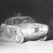 1976 SCR George Fury, Monty Suffern - Datsun 710SSS