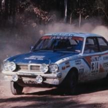 1976 SCR Kenjiro Shinozuka, Gary Connelly - Mitsubishi Lancer