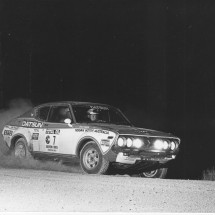 1976 SCR [Master at work] Raunno Aaltonen, Jeff Beaumont - Datsun 710SSS