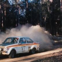 1976 SCR Roger Clarke, Jim Porter - Ford Escort RS 1800