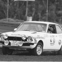 1976 SCR [Team Safari] Hideya Satoh, Mitsuaki Tarao - Mitsubishi Lancer