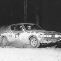 1976 SCR [Wonderful driver,gorgeous little car] Raunno Aaltonen, Jeff Beaumont - Datsun 710SSS