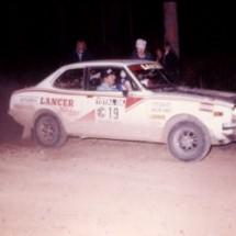 1976 SCR car#19 Doug Stewart, John Dawson-Damer - Mitsubishi Lancer