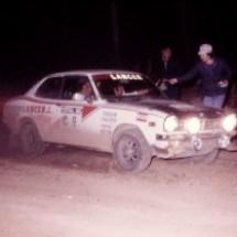 1976 SCR car#9 Barry Ferguson, Neil Faulkner - Mitsubishi Lancer