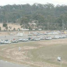 1977 SCR Amaroo Park - Field of entries at Start of Event