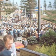 1977 SCR Division start @ Sandcastle [Event HQ] parc ferme & start ramp