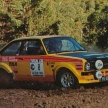 1977 SCR [McCollums Rd] Greg Carr, Wayne Gregson - Escort RS 1800