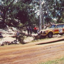 1979 SCR [Amaroo jump] Bjorn W, Hans T - Ford Escort RS 1800