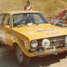 1979 SCR Colin Bond, John Dawson-Damer - Ford Escort RS 1800
