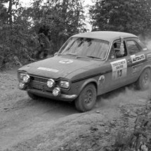 Bruce Hodgson-Mike Mitchell Ford Escort