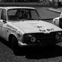 Tom Barr-Smith - Rob Hunt Renault 16TS