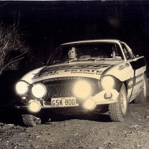 post 1972 SCR -Norm Bolitho, Peter Brown - Volvo P1800 Coupe